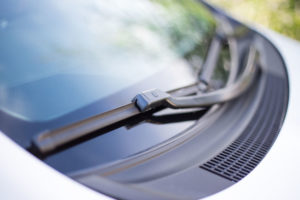 windshield and wipers